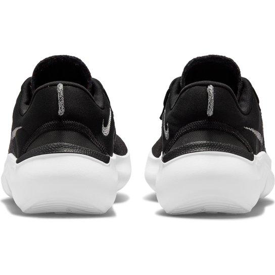 Tênis Nike Flex 2021 Rn Feminino - Preto+Branco