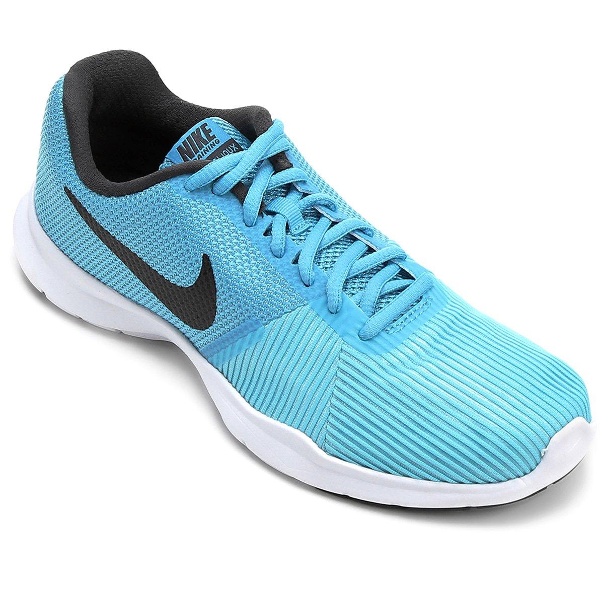 ... Tênis Nike Flex Bijoux Feminino - Azul e Preto - Compre Agora Netshoes  ab658e9a2299ee ... 979566b4d957e