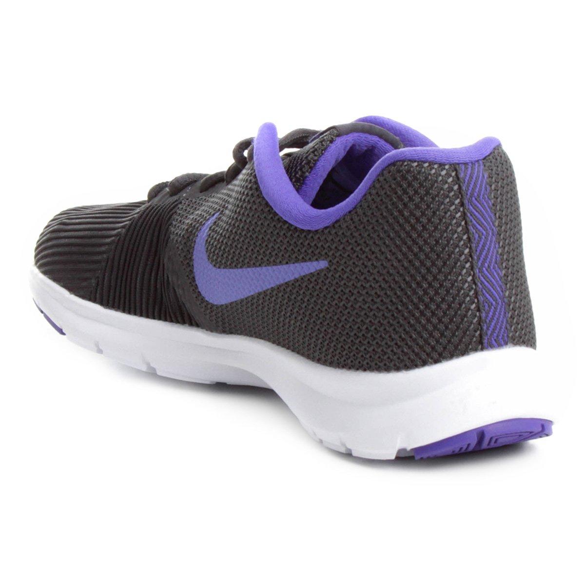 Tênis Nike Flex Bijoux Feminino - Cinza e Violeta - Compre Agora ... 5c772d39d8029