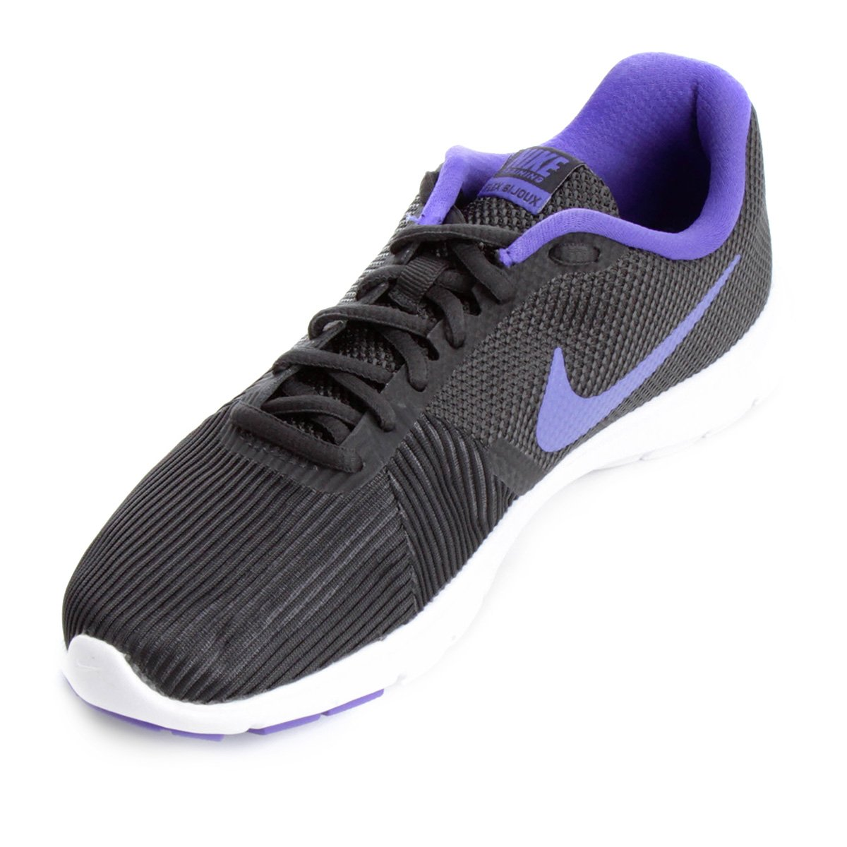Tênis Nike Flex Bijoux Feminino - Cinza e Violeta - Compre Agora ... 109233e34af5e