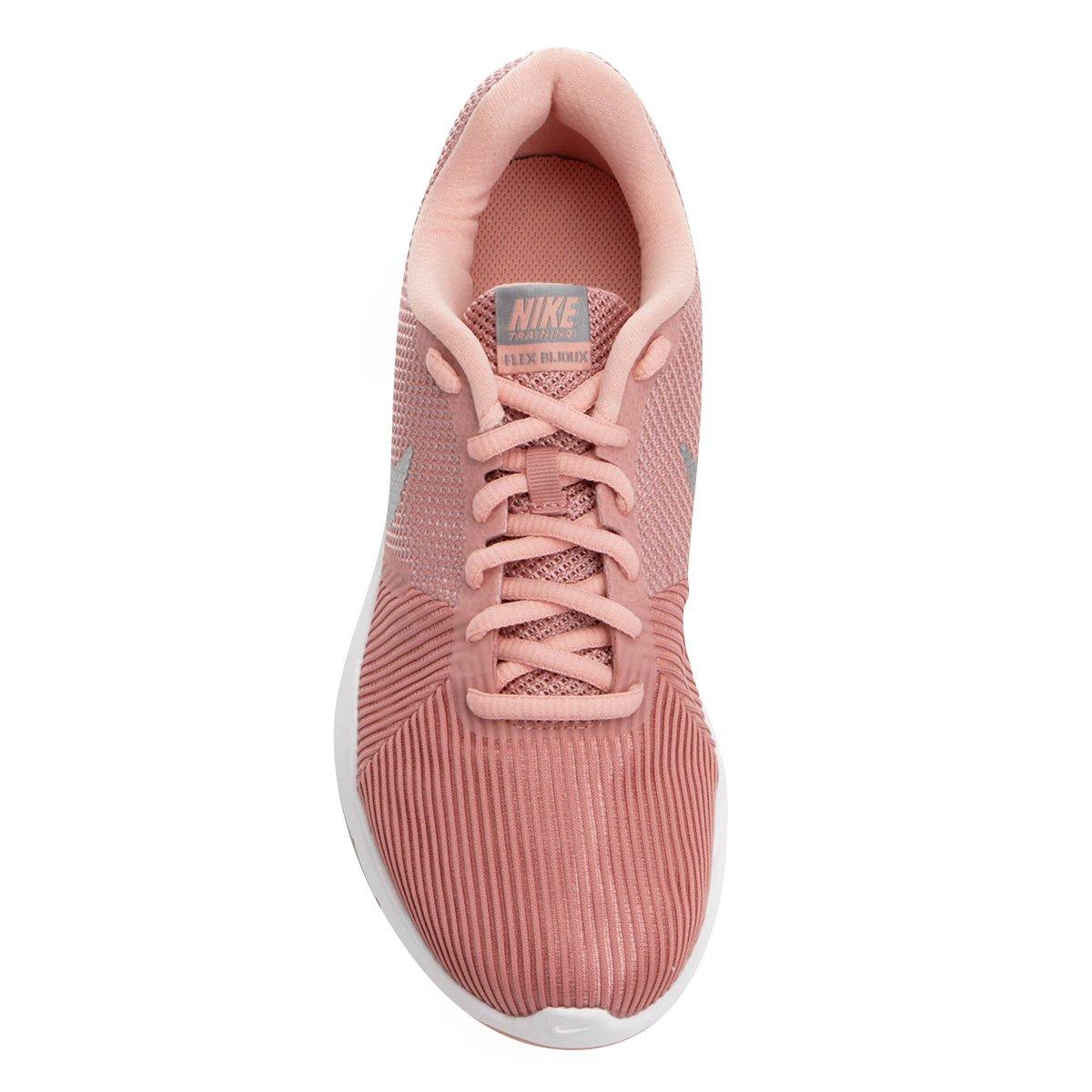 Tênis Nike Flex Bijoux Feminino - Rosa e prata - Compre Agora  0b537af8c7c6d