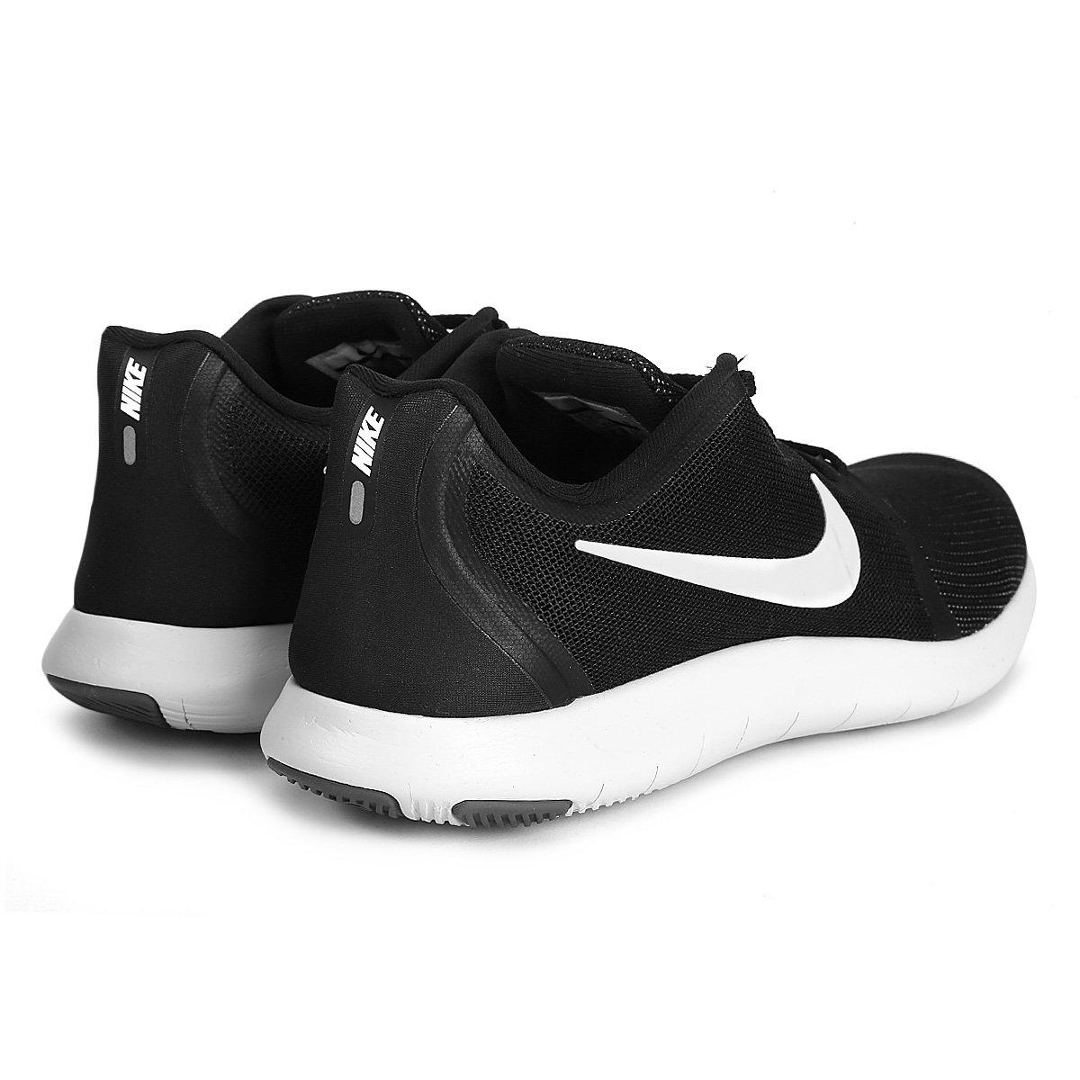 b09c55511 Tênis Nike Flex Contact 2 Masculino - Preto e Branco - Compre Agora ...