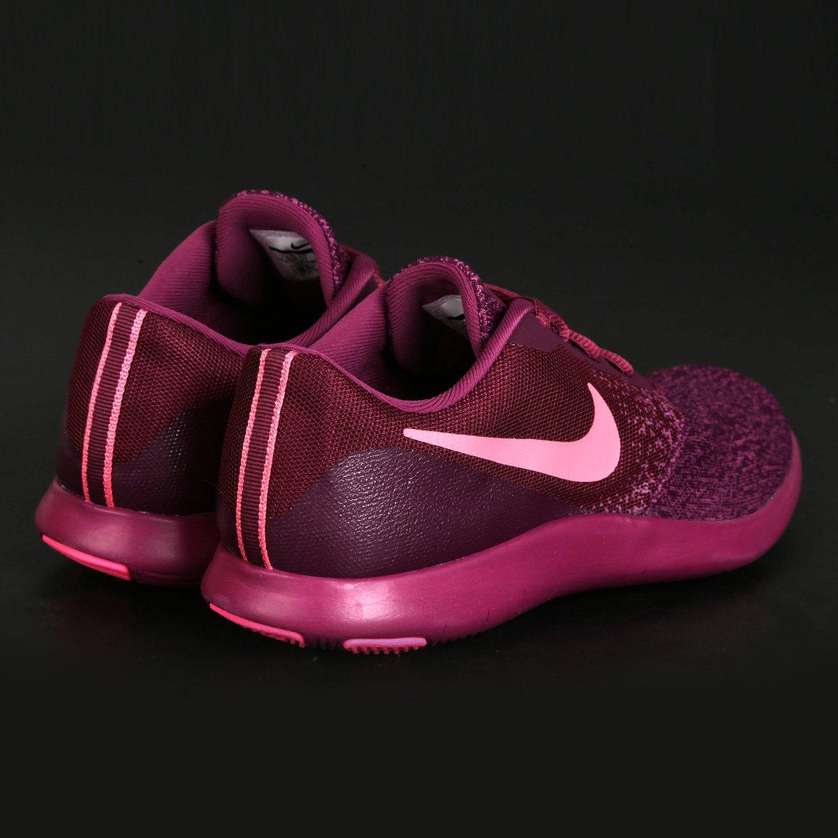 28ad2ec2a4 Tênis Nike Flex Contact Feminino - Bordô - Compre Agora