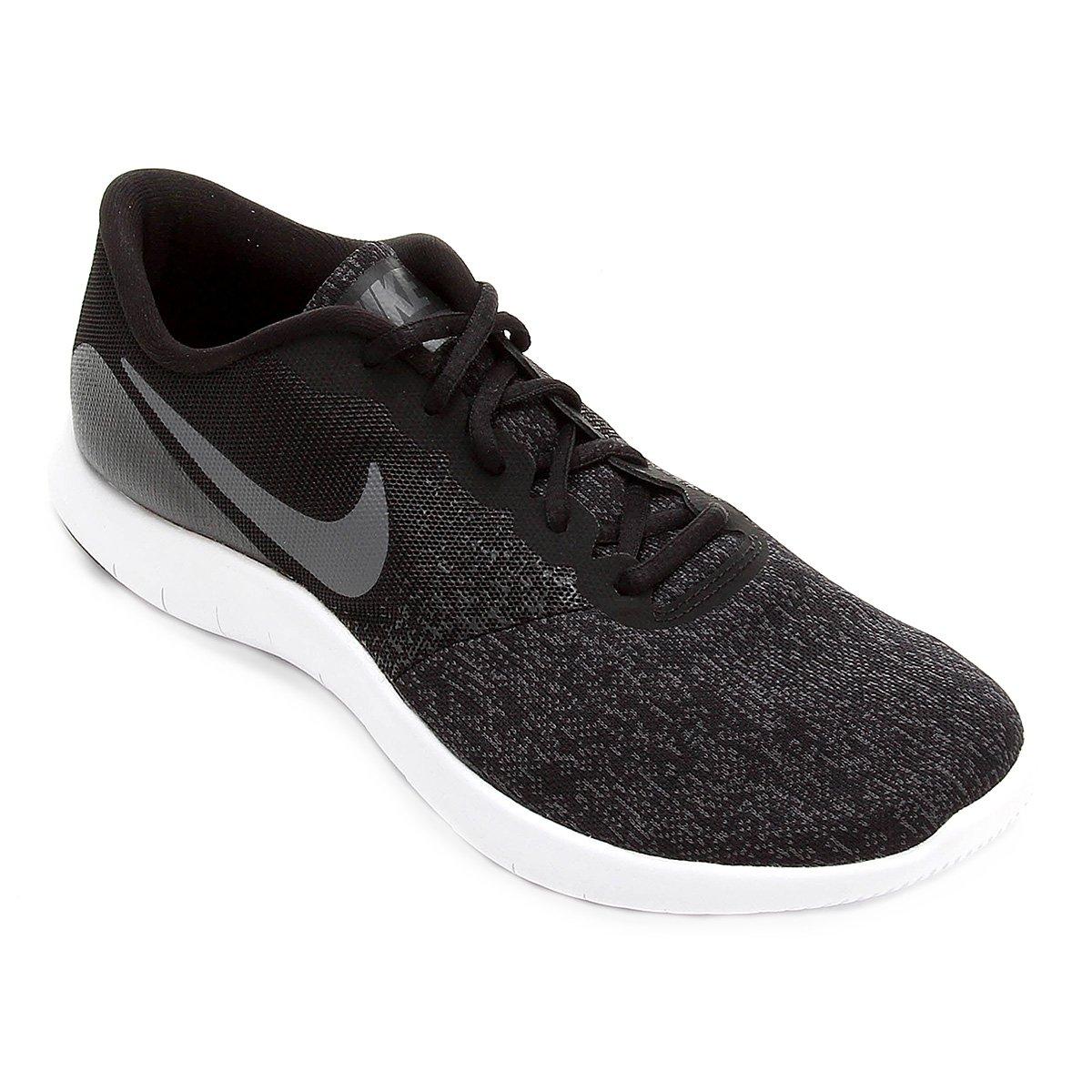 Tênis Nike Flex Contact Masculino - Preto e Cinza | Netshoes