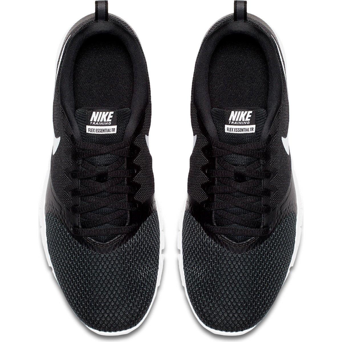 Tênis Nike Flex Essential TR Feminino - Preto e Branco - Compre ... 1aea1d9c5066f