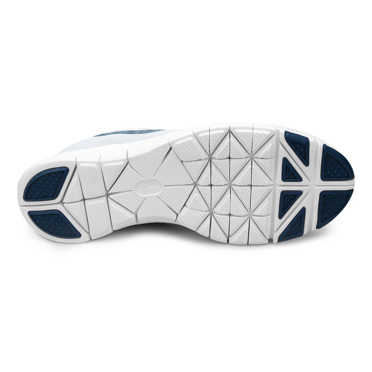 061153bc83 Tênis Nike Flex Essential TR Feminino - Cinza e Azul - Compre Agora ...