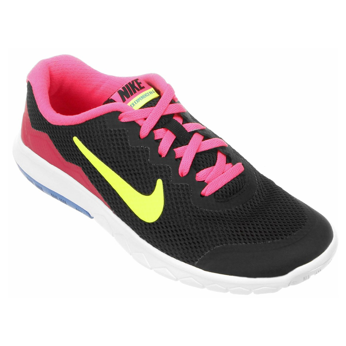 4ac1f2869fa Tenis Nike Feminino Casual Preto E Rosa - naturallycurlye.com