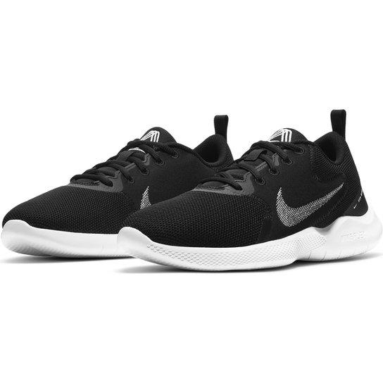 Tênis Nike Flex Experience RN 10 Masculino - Preto+Branco