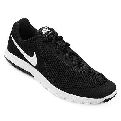 9d0e40928df Tênis Nike Flex Experience Rn 6 Feminino - Preto e Branco - Compre Agora
