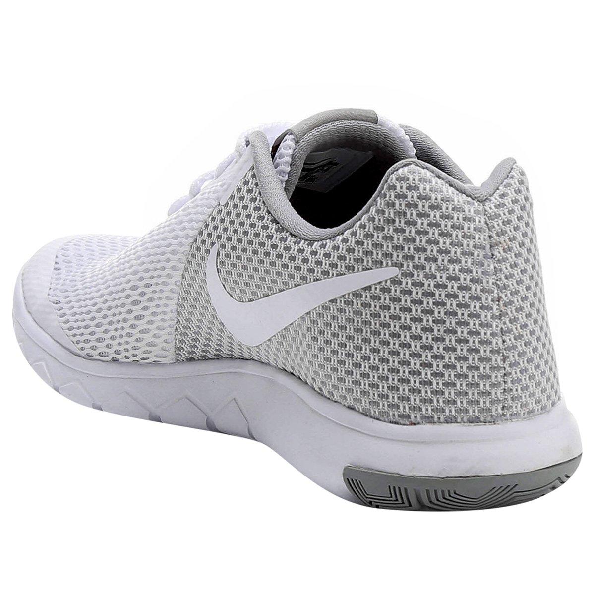 b278bbc879 Tênis Nike Flex Experience Rn 6 Feminino - Branco e Cinza - Compre ...