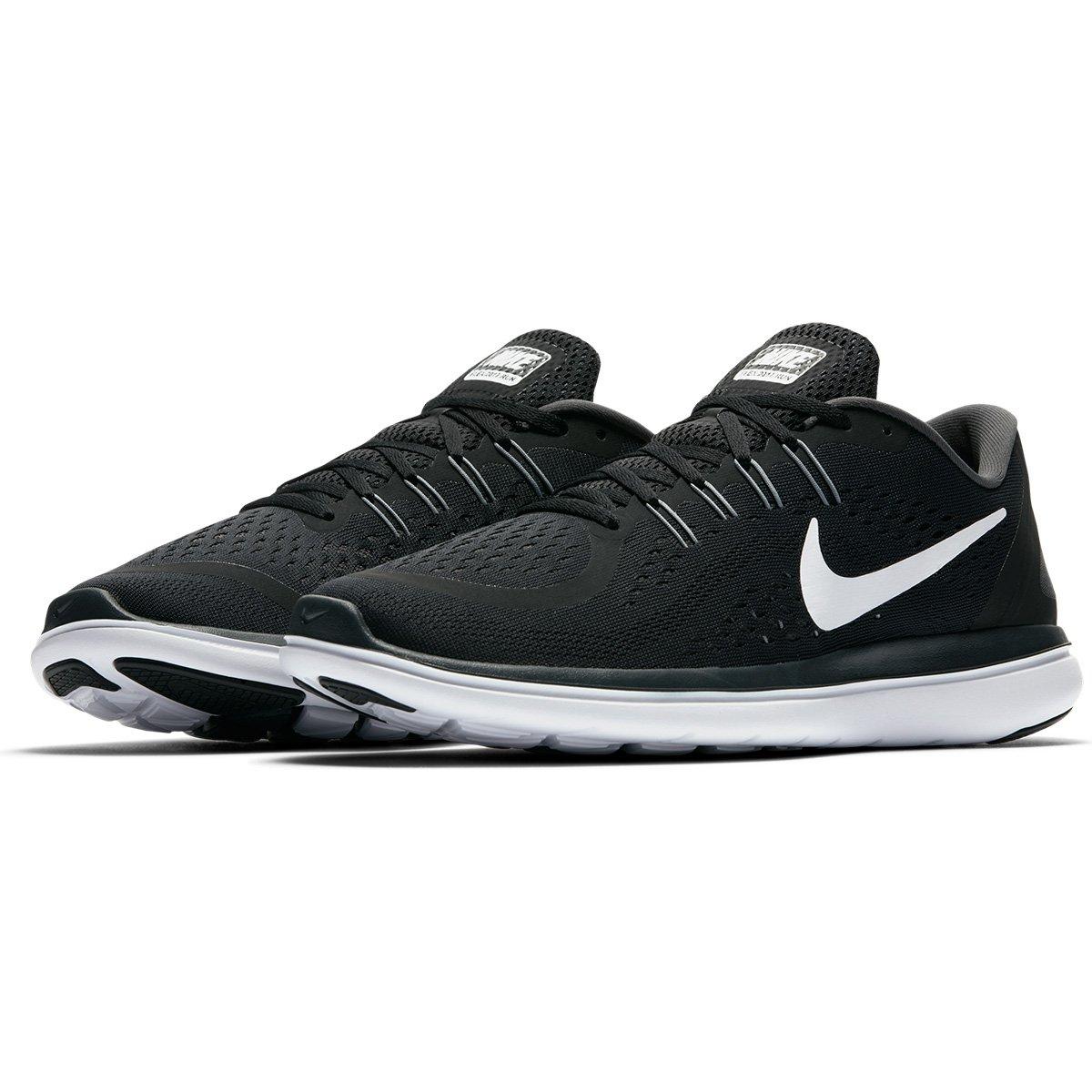 5b0451f8bc Tênis Nike Flex Run Masculino - Preto e Branco - Compre Agora