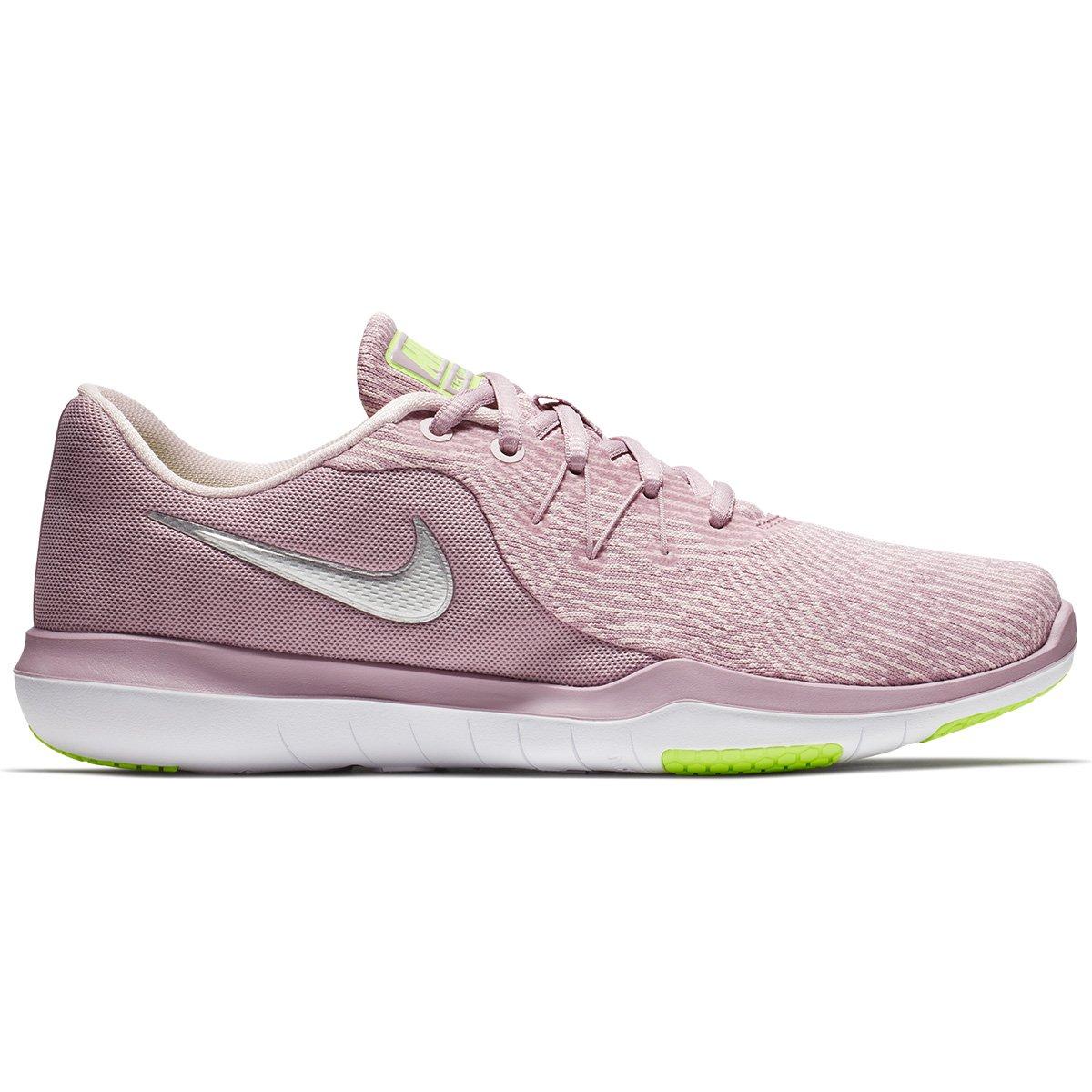 Tênis Nike Flex Supreme TR 6 Feminino - Rosa e prata - Compre Agora ... 7b163bb98490a