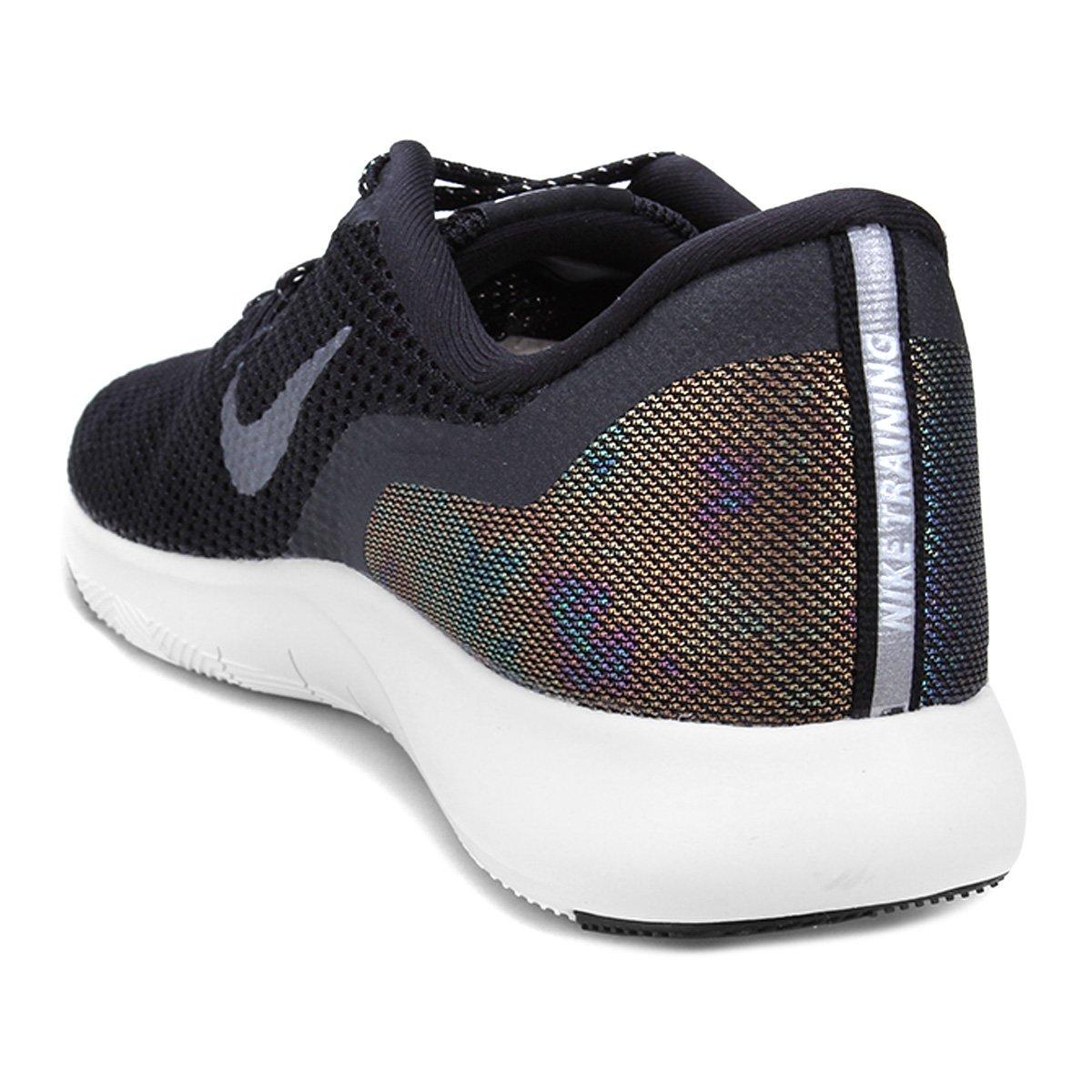 Tênis Nike Flex Trainer 7 Mtlc Feminino - Preto e Cinza