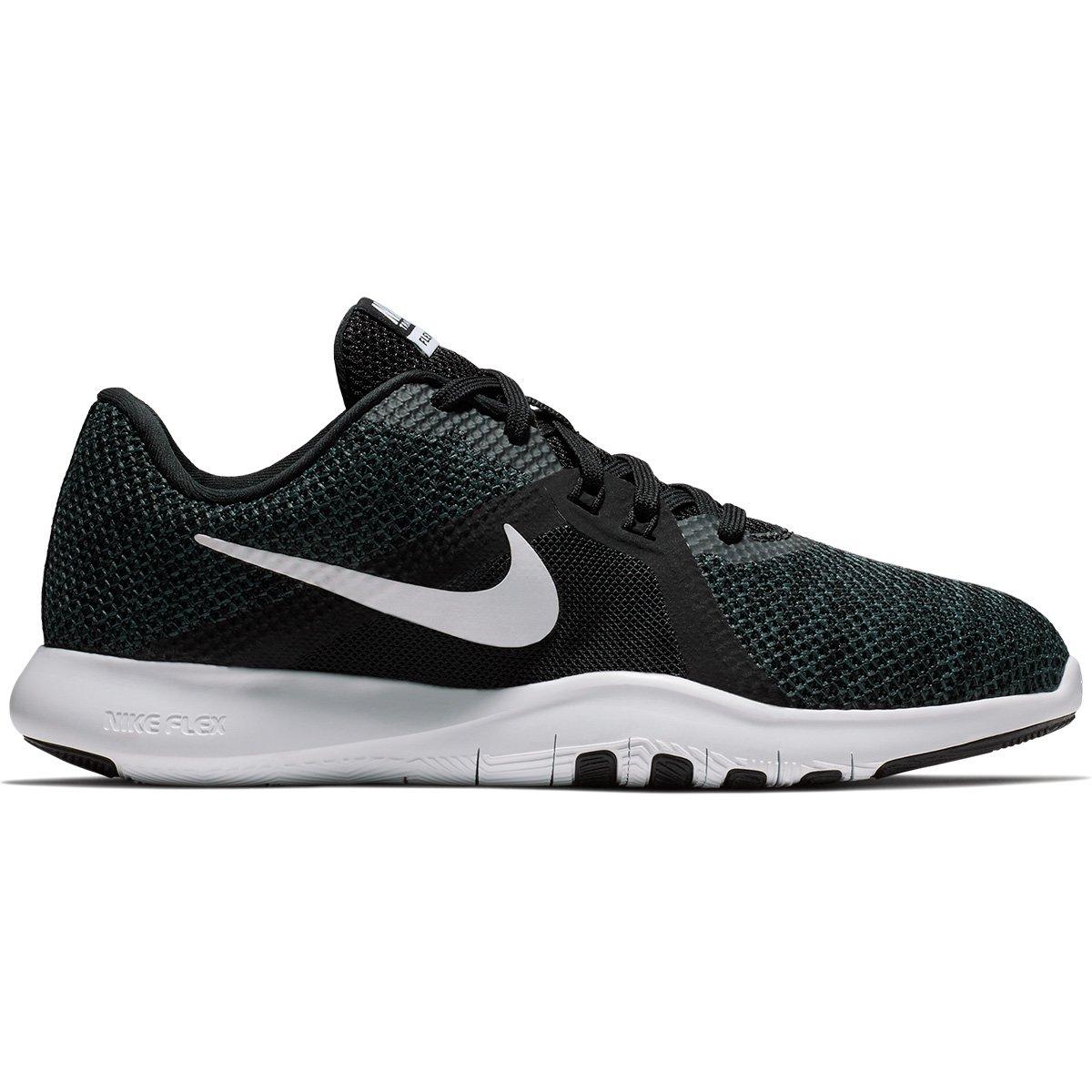 Tênis Nike Flex Trainer 8 Feminino - Preto e Branco - Compre Agora ... a5b1839c96