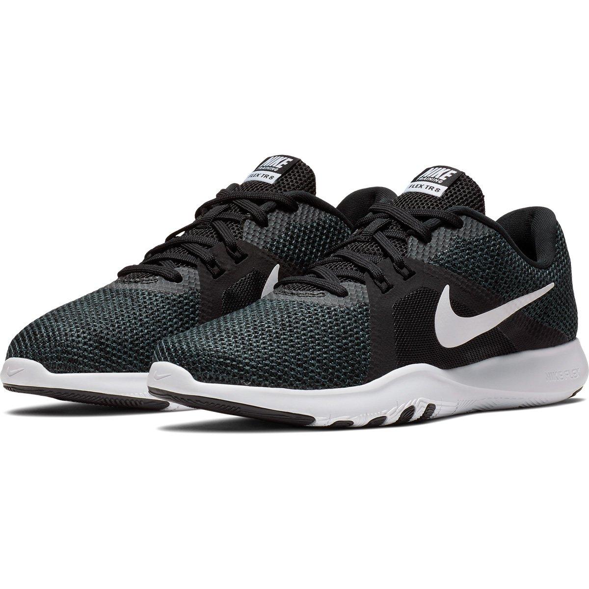 95594ec181 ... Branco Trainer Tênis Nike Nike e Preto Flex Flex Feminino 8 Tênis  wwgTv6xX ...