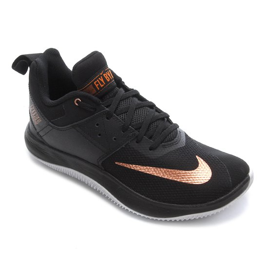 Menor preço em Tênis Nike Fly By Low II Masculino - Preto e Bronze