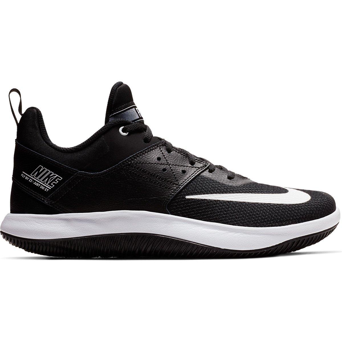 Tênis Nike Fly By Low Masculino - Preto e Branco - Compre Agora ... b9ba141903e9d