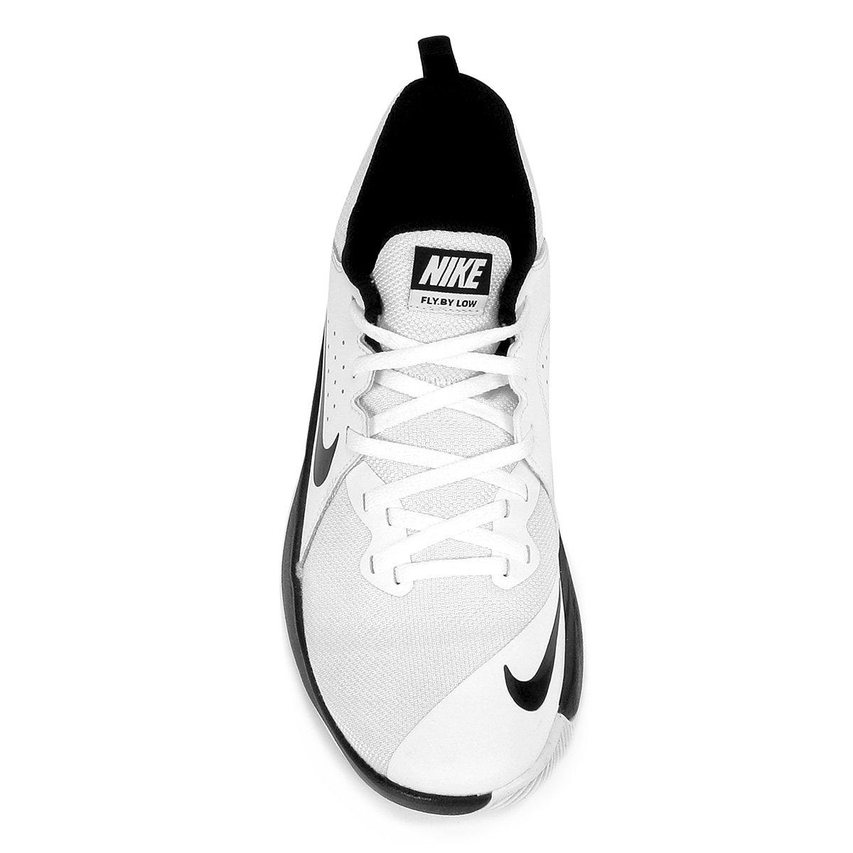 Tênis Nike Fly.By Low Masculino - Branco e Preto - Compre Agora ... 96c7517d77004