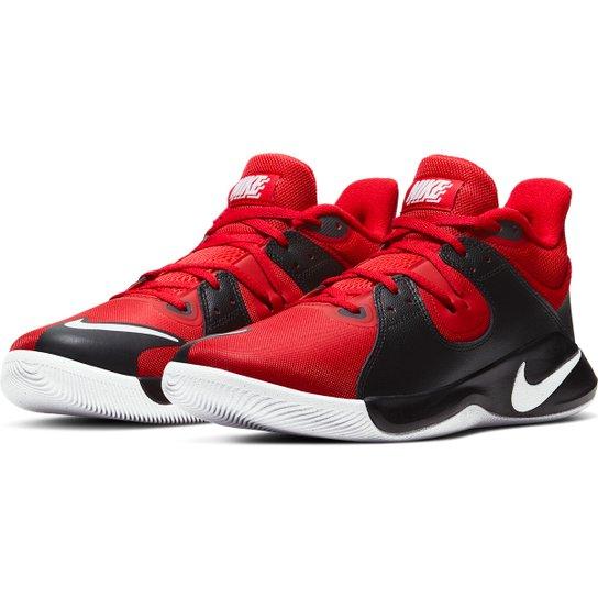 Tênis Nike Fly.By Mid Masculino - Vermelho+Branco