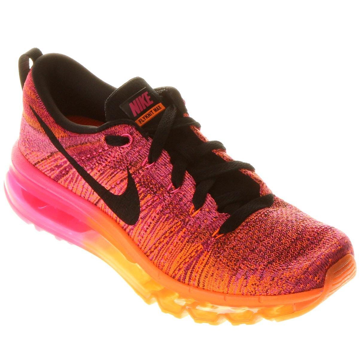 Nike Flyknit Air Max rosa