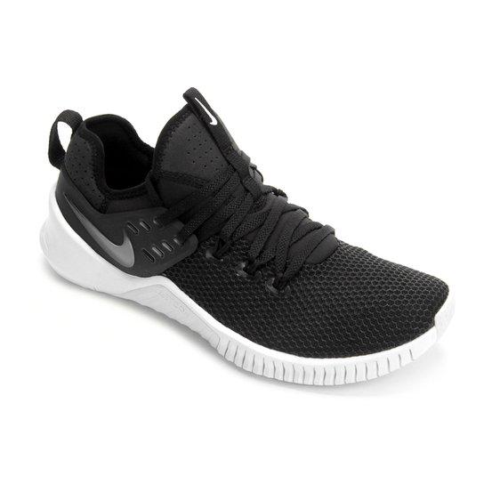Tênis Nike Free Metcon Masculino - Preto+Branco