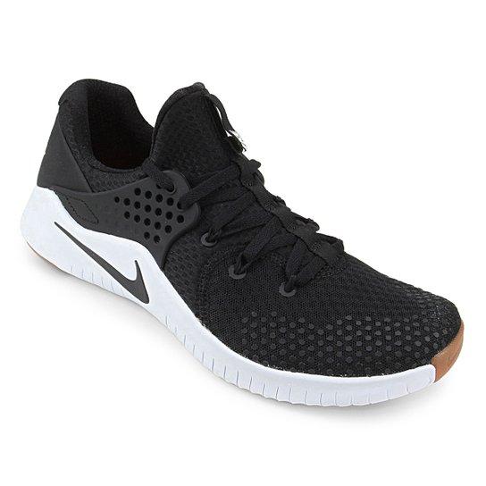 Tênis Nike Free TR V8 Masculino - Preto+Branco