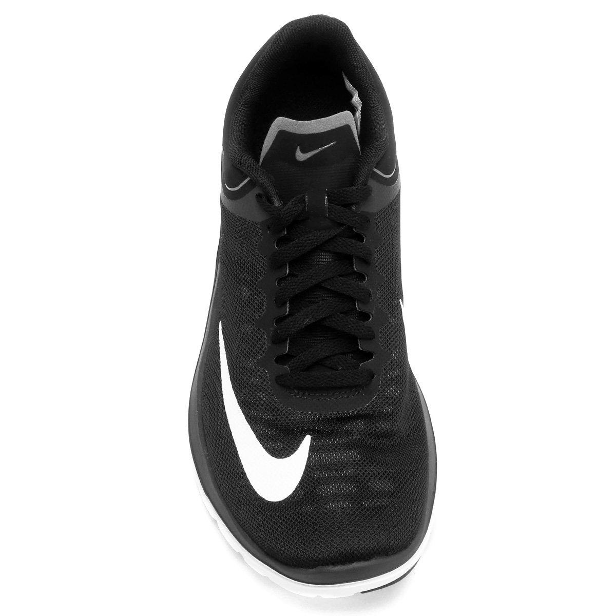 eb8cd9f443 Tênis Nike Fs Lite Run 4 Feminino - Preto e Branco - Compre Agora ...