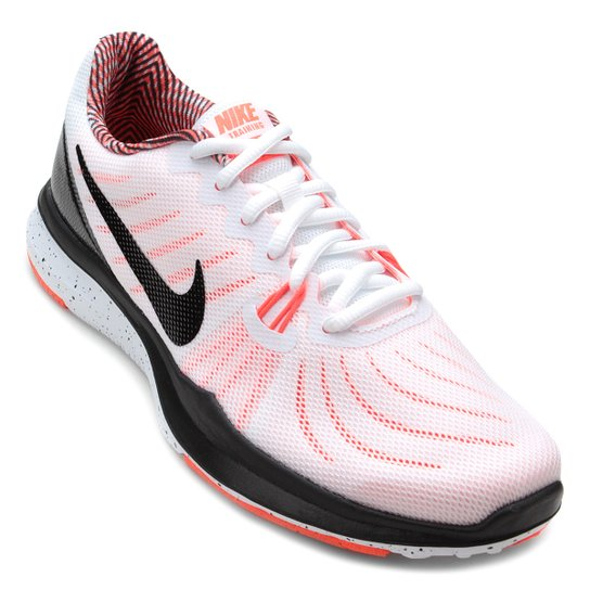 Tênis Nike In-Season TR 7 Feminino - Branco+Preto