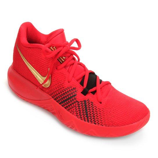 Tênis Nike Kyrie Flytrap Masculino - Vermelho+Dourado