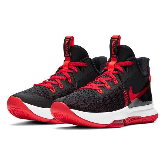 Tênis Nike Lebron Witness V - Preto+Vermelho