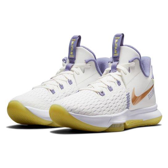 Tênis Nike Lebron Witness V - Off White