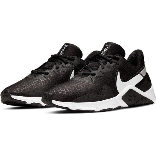 Tênis Nike Legend Essential 2 Masculino - Preto+Branco