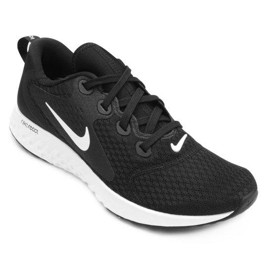Tênis Nike Legend React Masculino - Preto+Branco
