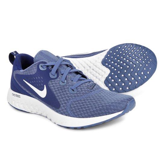 Tênis Nike Legend React Masculino - Azul+Branco