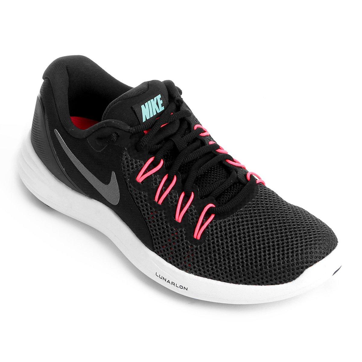 Tênis Nike Lunar Apparent Feminino Preto e Cinza