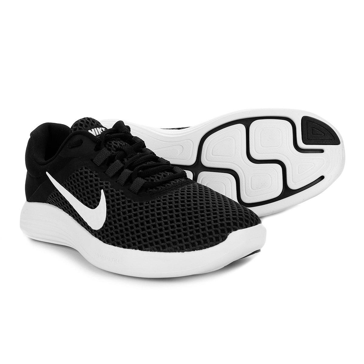 Tênis Nike Lunarconverge 2 Masculino - Preto e Branco