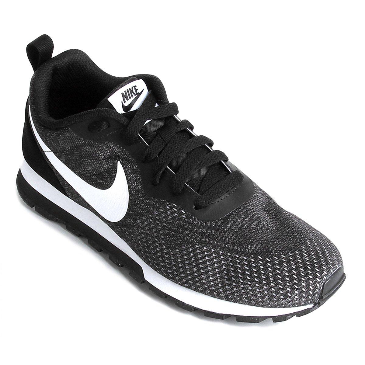 eacadade77 Runner 2 Masculino e Mesh Branco Preto Nike Tênis Md Eng q7AwPTp ...