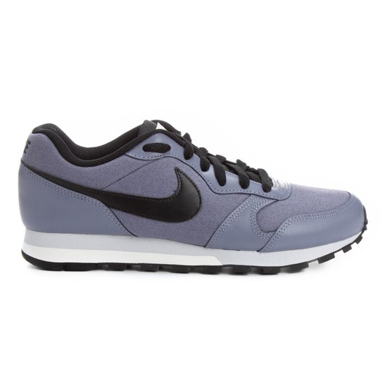 Tênis Nike Md Runner 2 Feminino - Azul+Preto