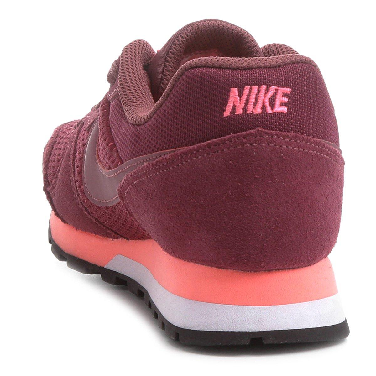 Tênis Nike Md Runner 2 Feminino - Vermelho Escuro - Compre Agora ... b0094e8b6c568