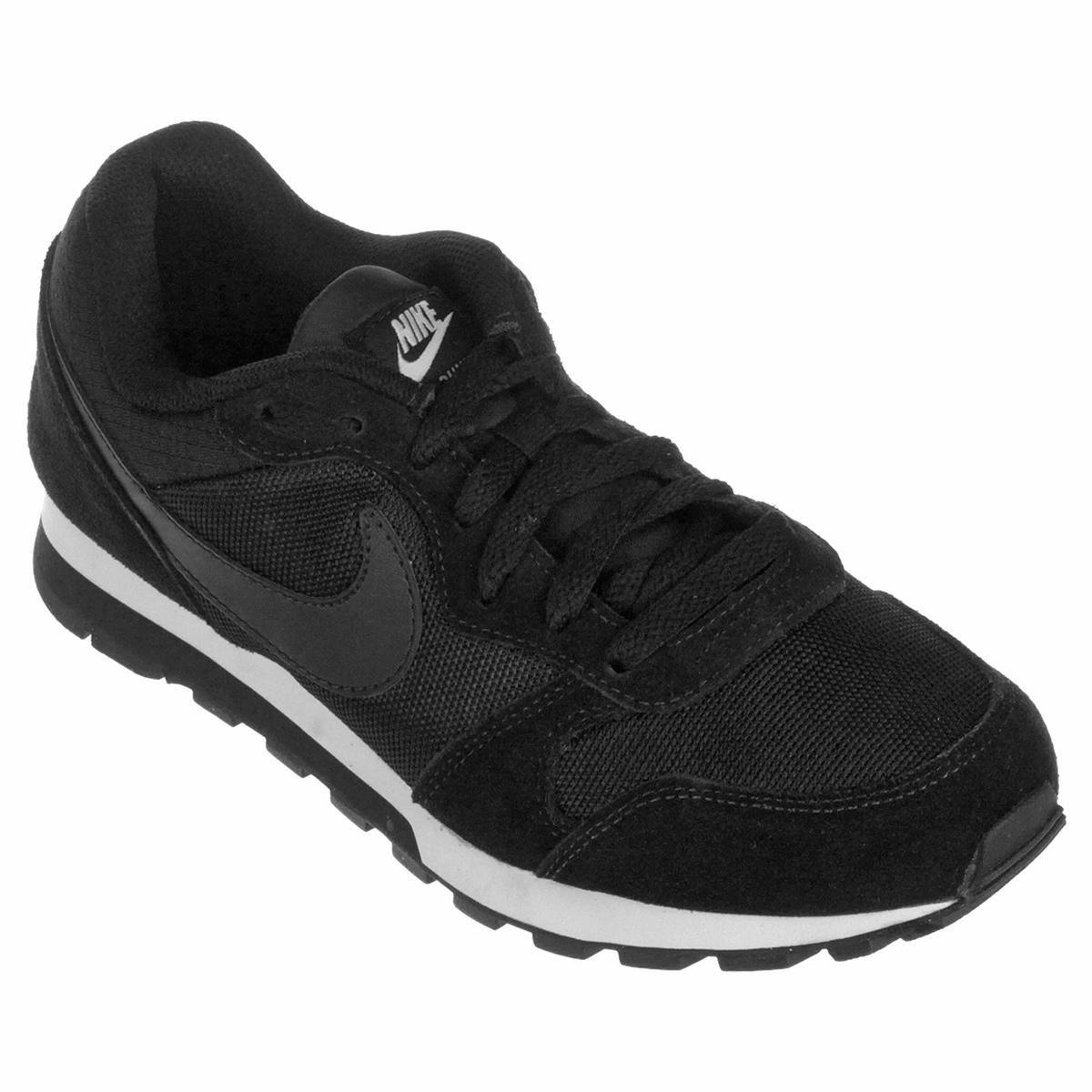 b3dc8acb6 Tênis Nike Md Runner 2 Feminino - Preto e Branco - Compre Agora ...