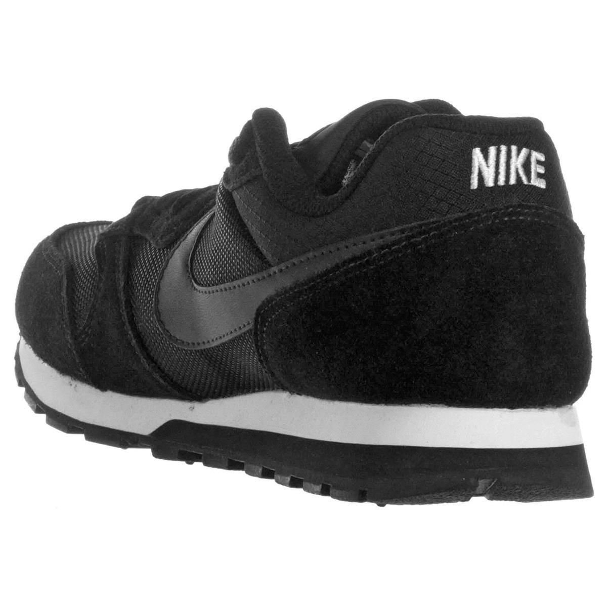 Tênis Nike Md Runner 2 Feminino - Preto e Branco - Compre Agora ... 0db944afe11aa
