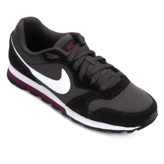 Tênis Nike Md Runner 2 Feminino - Branco+Grafite