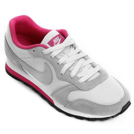 Tênis Nike Md Runner 2 Feminino - Cinza+Pink