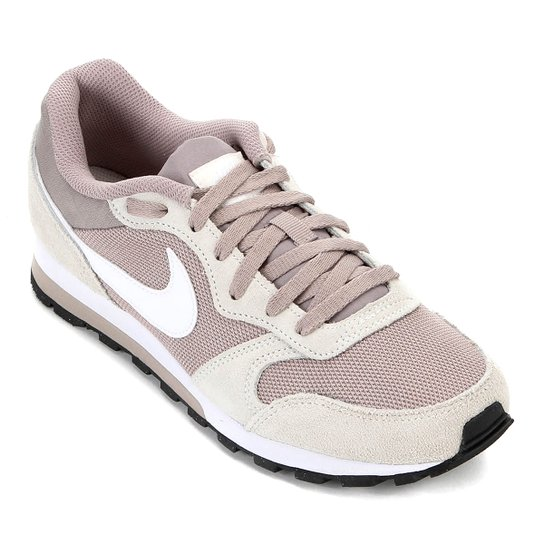 Tênis Nike Md Runner 2 Feminino - Branco+Cinza