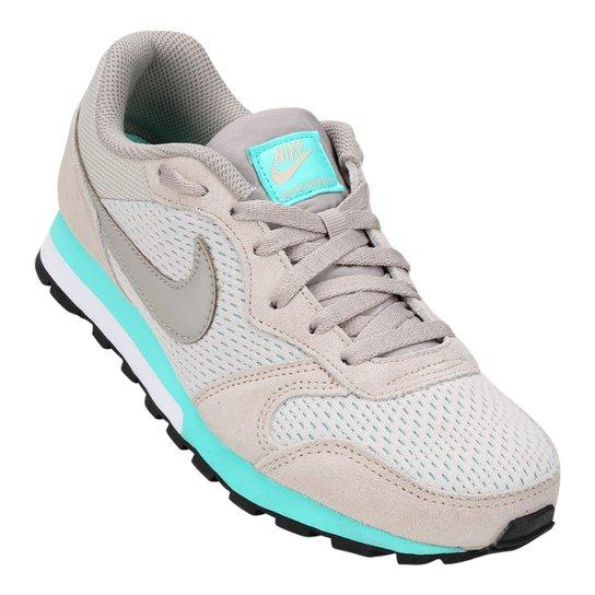 Tênis Nike Md Runner 2 Feminino - Cinza+Azul Claro
