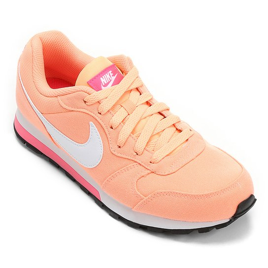 Tênis Nike Md Runner 2 Feminino - Branco+Bege