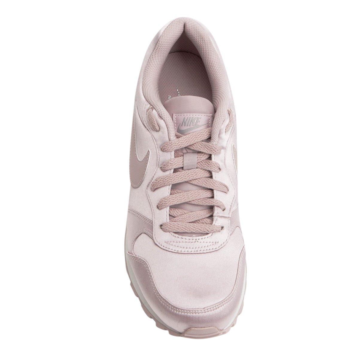 544ad9e5844d3 ... f95346a1b11 Tênis Nike Air Max Advantage Feminino Rosa Claro Thamyres  Em ...