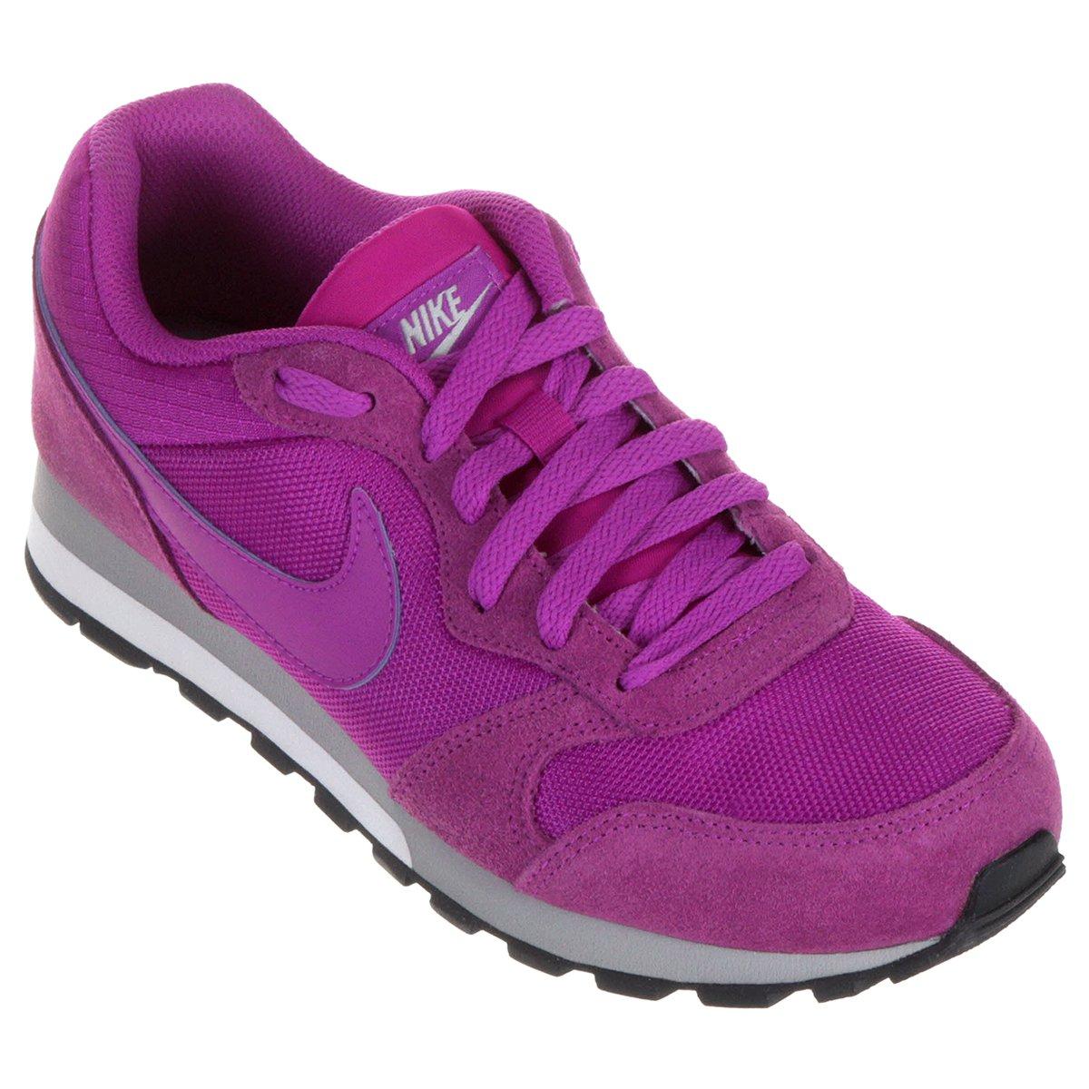 3054076325 Tênis Nike Md Runner 2 Feminino - Roxo - Compre Agora