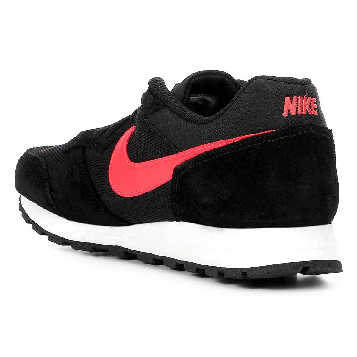 Tênis Nike Md Runner 2 Masculino - Preto e Vermelho - Compre Agora ... 451b6ab815823