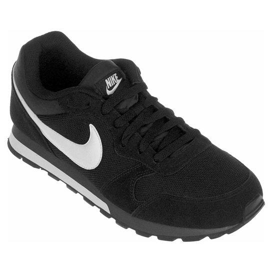 Tênis Nike Md Runner 2 Masculino - Preto+Branco